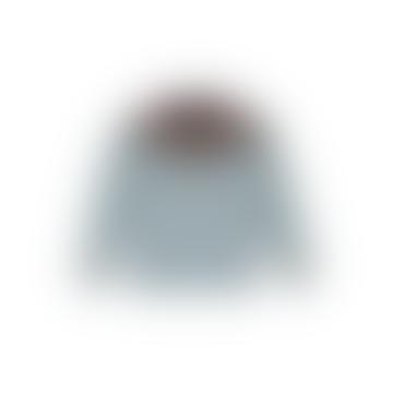 Fairisle Yoke Sweater Haar Mint