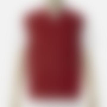 Arnold & Co Universal Works Zip Waistcoat Red