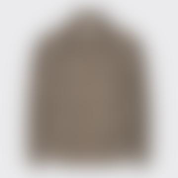 Khaki Sandur Outerwear 7105 Checked Jacket