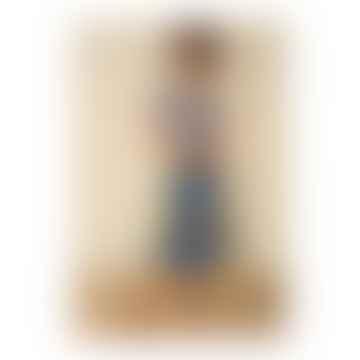 Blue Briony Jardin Soleil Skirt