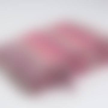 Mohair Blanket Mia #29 130 - 200 cm - Pink & Fucsia