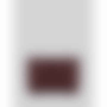 Merlot Grainy Leather Roxy Wallet or Purse