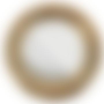 Yakira Anitque Brass Mirror Large