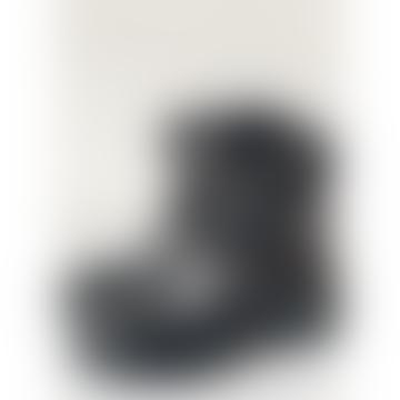 Hopper Black Biker Boots
