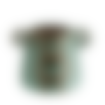 Contemporary Stoneware Vases In Emerald And Black