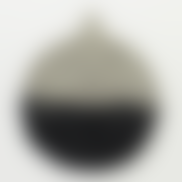 Grey/Black Felt Potholder