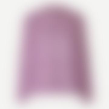 Purple Wisteria Elmy Blouse Top