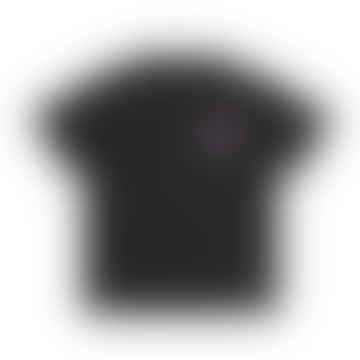 Record Club T Shirt Black