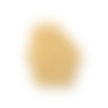 HKliving Matte Mustard Face Wall Ornament