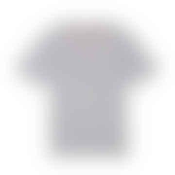 Womens Original Logo T Shirt Grey Marl