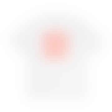 Fading Script T Shirt White Pop Coral