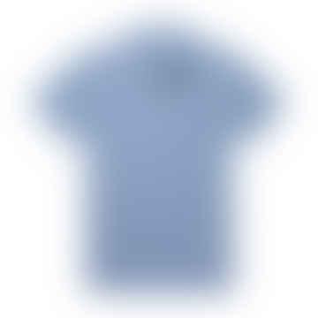 Riviera Polo Shirt Blue Sky