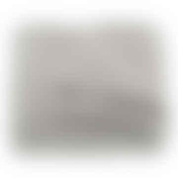 Grey Curly Alpaca Throw