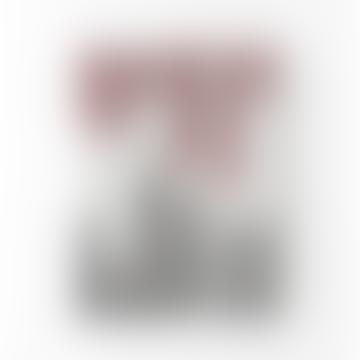 Mo Man Tai Set of 6 Gradient Candle Foggy Maroon