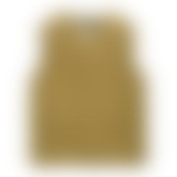 Taion Sandy Beige V Neck Down Vest