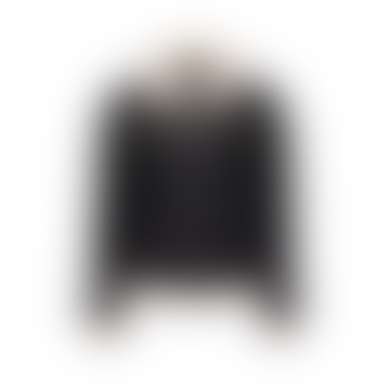 J.O.T.T Paddle Biker Jacket With Faux Fur Trim In Black