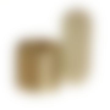 Art Candleholder Brass