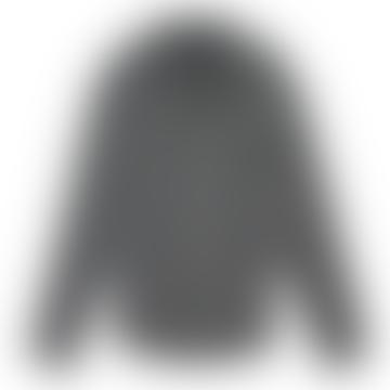 LENNOX Plaid Shirt - CHARCOAL HEATHER GREY CREAM