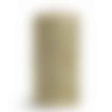 Large Glitter Pillar Candle