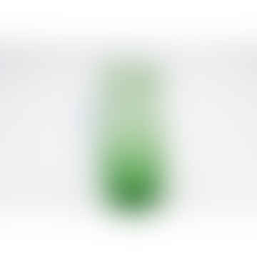 Green Glass Jug Hay