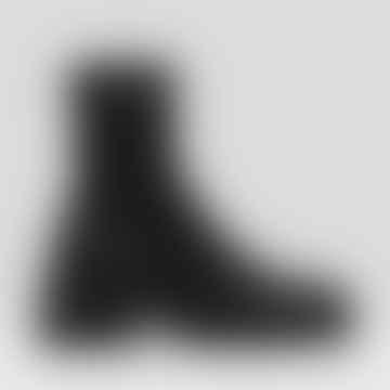 Miista Oliana Leather Boots - Black