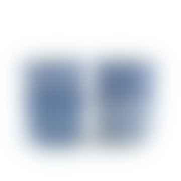 Mug Tumbler lot de 4 Blue Diamond