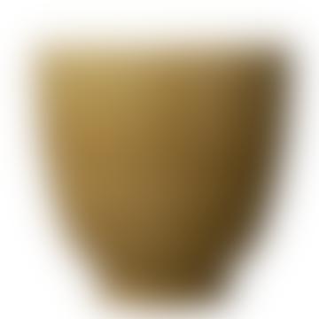 Mustard Ceramic Glazed Pot