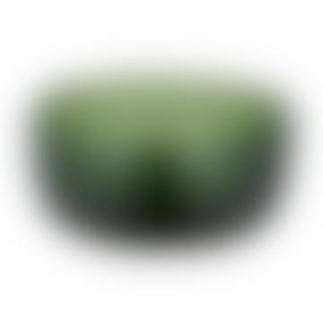 Emerald Green Glass Olive Bowl