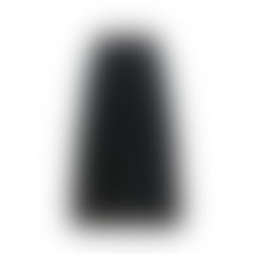 King Louie Pintuck Dazzle Stripe Skirt In Black