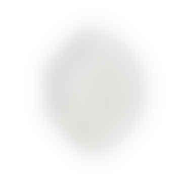 HKliving Athena Ceramics: Octagonal Side Plate White Matt