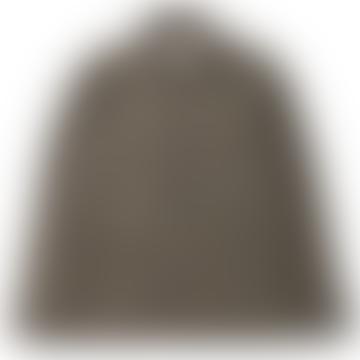 Native North Tweed Utility Overshirt Green Brown
