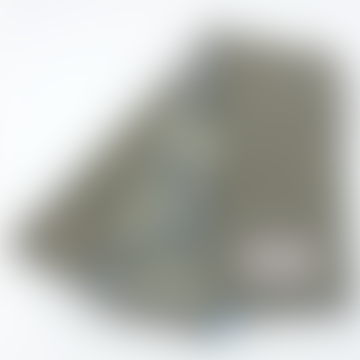 Green Paisley Herringbone Skinny Scarf