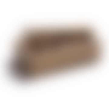Oiled Oak Nutcracker with Lever