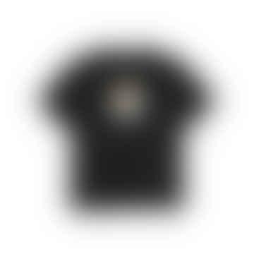 Black Cotton Balloon T Shirt