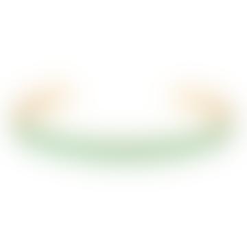 Jonc Bangle Opal Green