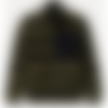 Mens 7706 Printed Army Fleece Jacket