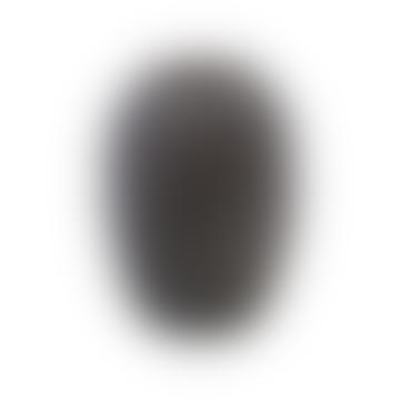 Large Noa Dark Brown Glass Vase