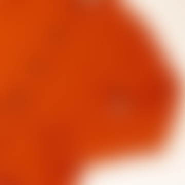 Tricot Wool Orange Cardigan