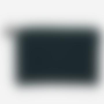 Funda para iPad a cuadros en verde azulado con borla