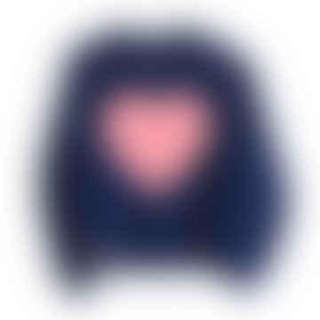 Glow In The Dark Interactive Sweatshirt- Heart Design Adult
