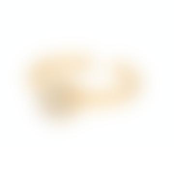 Pernille Corydon Small Haze Ring, 6mm, white druzy