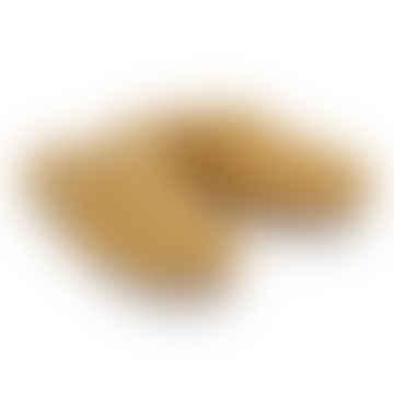 Mustard Wool Slippers
