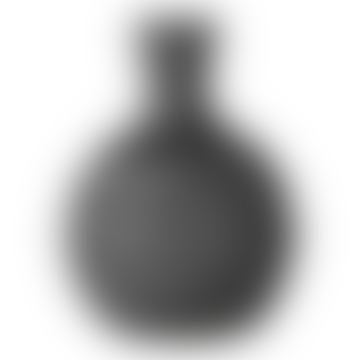 Black Stoneware Vase