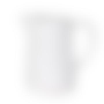 White Rustic Antler Design Jug