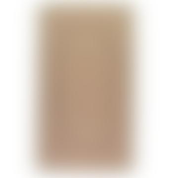92 x 152cm Rectangle Organic Jute Pampas Rug