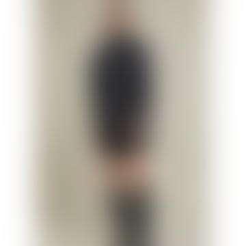 Cisne Oversized Polo Dark Grey