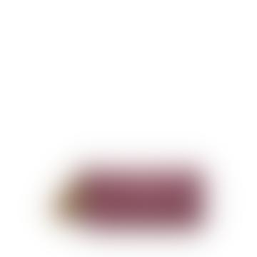 Burgundy Tassel Pencil Pouch