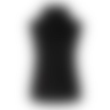 Second Female Knit Vest Ivory Black