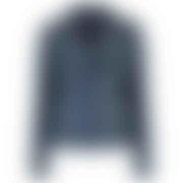 MDK Night Blue Leather Seattle Jacket