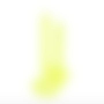 Lex Pott Twist Candle Fluoro Yellow